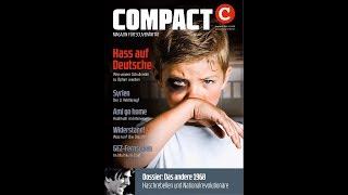 COMPACT-Vorschau: Hass auf Deutsche