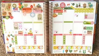 Plan With Me! ECLP Sept 7th - 13th ~ Vintage Story Book Theme