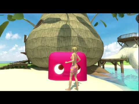 Playstation Home Personal Space Tour - Loco Island