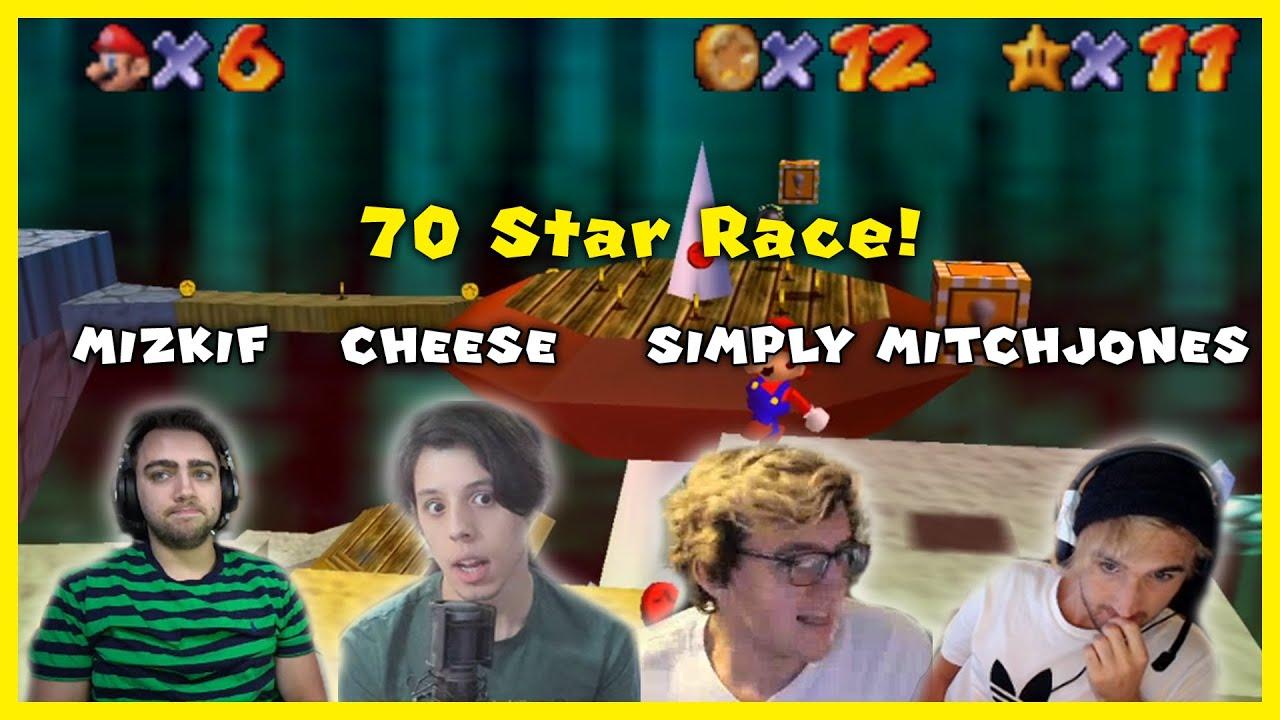 I raced Mizkif and MitchJones in Super Mario 64