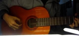 Đợi em về guitar cover by Meizan