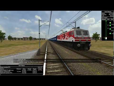 22944 indore - pune express in Indian train simulator