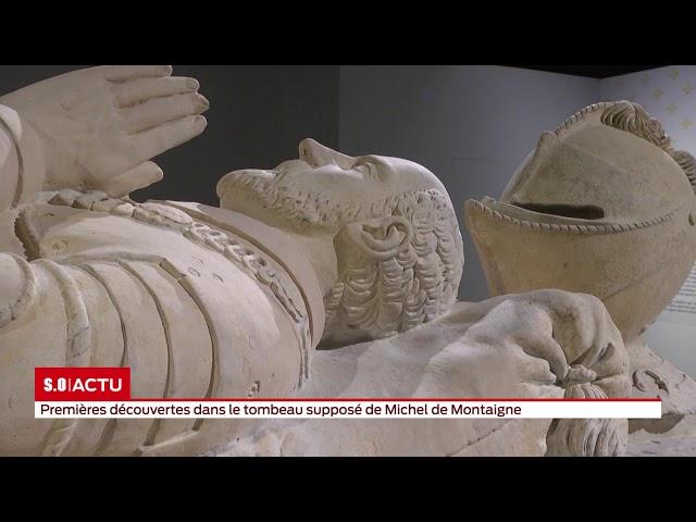 Le tombeau de Michel de Montaigne contient-il bien la dépouille du philosophe?