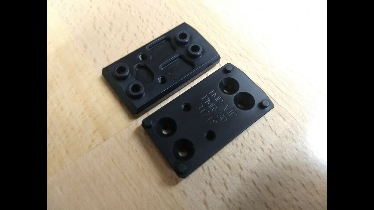 Tanner Machined Products, PMR-30 RDS Adapter Plates