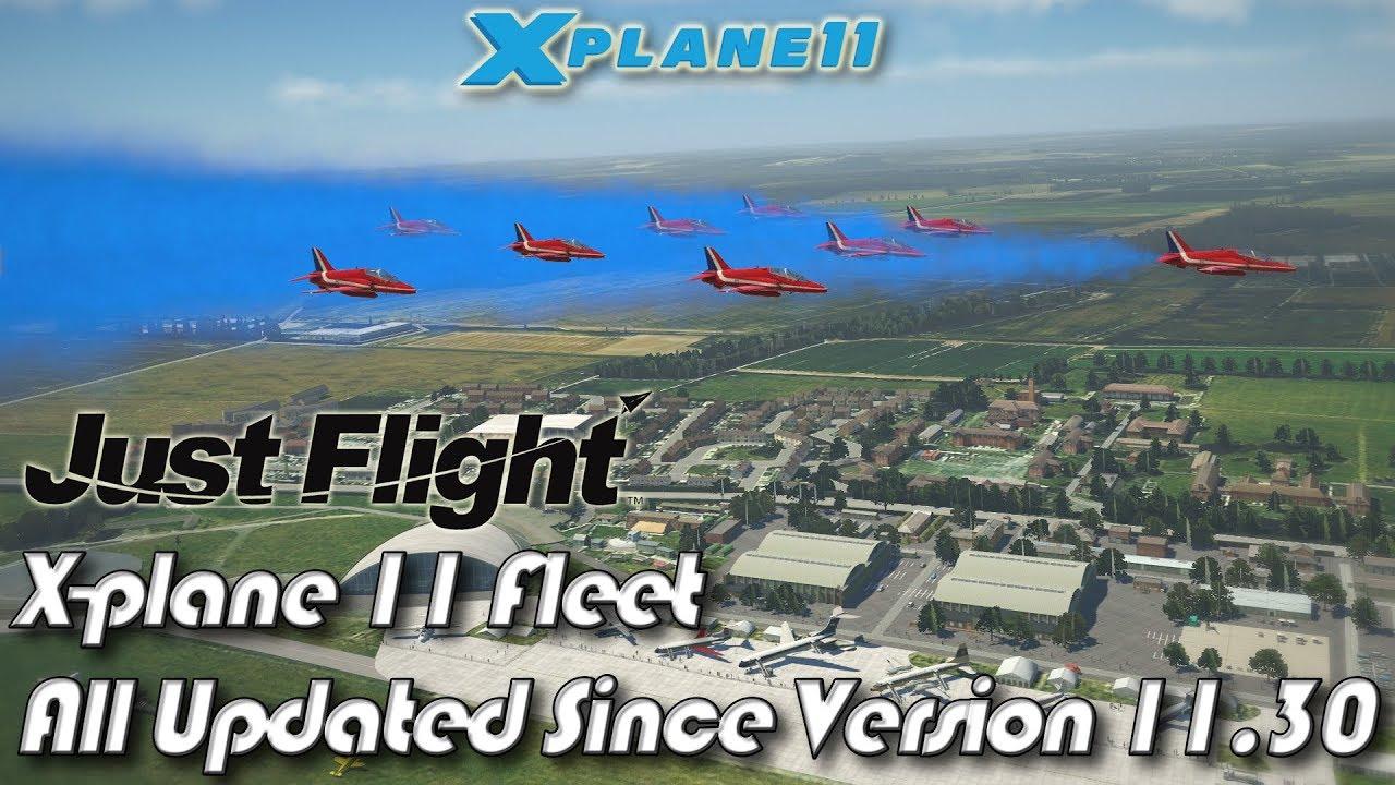 Just Flight X-plane 11 Fleet All Updated Since Version 11 30