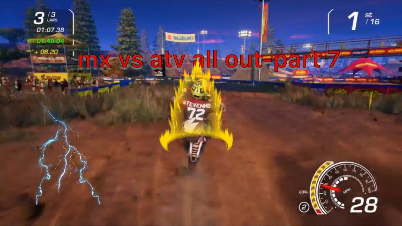 mx vs atv all out part7 ps4 youtube. Black Bedroom Furniture Sets. Home Design Ideas