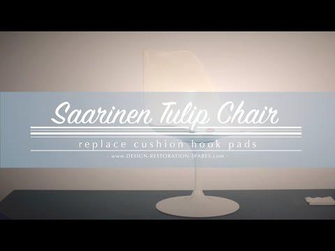 Eero Saarinen Tulip Chair - Replace Cushion Hook Pads