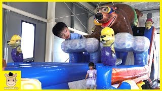 Fun Indoor Playground Songs for Kids | Playing in the Park Song | MariAndKids Toys