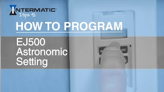 How To Program EJ500 Astronomic Setting