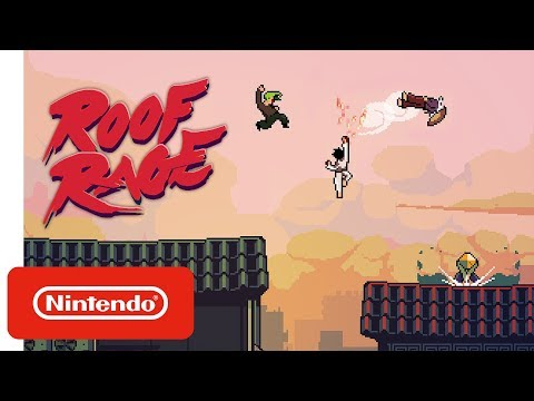 Roof Rage - Launch Trailer - Nintendo Switch