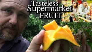 Mango Fruit Don't Taste Like They Used To