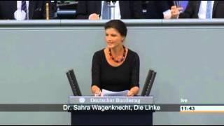 Sahra Wagenknecht: Griechenland ist seit 2010 überschuldet 17.07.2015 - Bananenrepublik