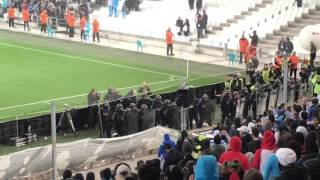 om bordeaux incidents de fin de math les crs lchent les gaz lacrimo sur les supporters