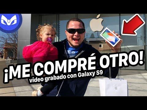 FUI A Apple Store A COMPRAR iPhone X NUEVO