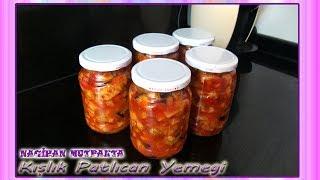 Kışlık Patlıcan Yemeği Nasıl Yapılır-Kışlık Patlıcan Yemeği Konservesi-Kışlık hazırlıklar