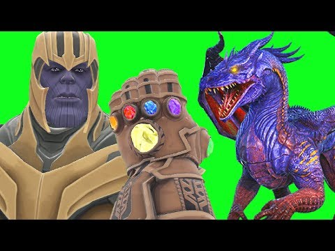 Can Thanos' INFINITY GAUNTLET Kill DRAGONS In Gmod?