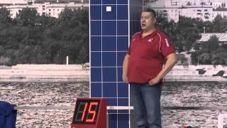 "Водное поло. ЧР. 7 тур. ""Спартак"" - ""Штурм 2002""."
