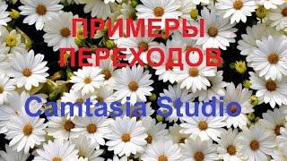 Camtasia Studio  Эффекты видео. Переходы между файлами - ПРИМЕРЫ(Камтазия студио. Примеры переходов между файлами в Camtasia Studio. Если Вам нужны уроки по работе в программе..., 2016-07-06T19:32:06.000Z)