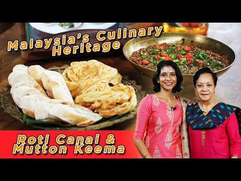 Cara Membuat Roti Canai & Mutton Keema |  How To Make Roti Canai & Mutton Keema | iCookAsia