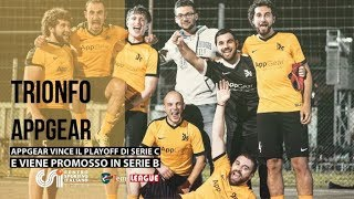 [ Finale Playoff Serie C ] AppGear - New Team (Calcio a 5)
