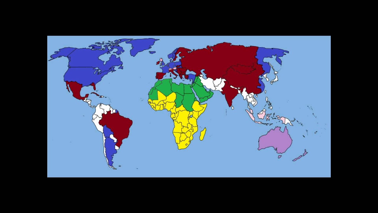World War NATO Vs Russia And Allies HD P YouTube - Map of us allies and enemies
