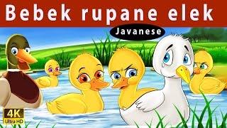 Bebek Rupane Elek | Ugly Duckling in Jawa | Dongeng Bahasa Jawa | Dongeng Jawa