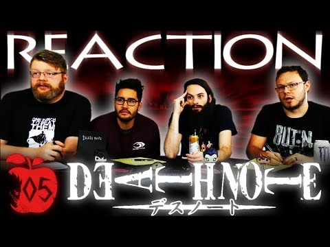"Death Note Episode 5 REACTION!! ""Tactics"""