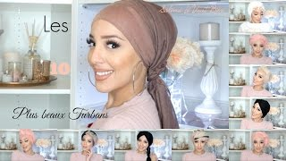 10 MOST BEAUTIFUL TURBANS IN TUTORIAL | LES 10 PLUS BEAUX TURBANS EN TUTORIEL