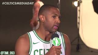 Al Horford FULL Media Day Interview (09/25/2017)