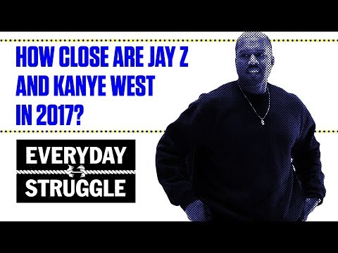 How Close are Jay Z and Kanye West in 2017?