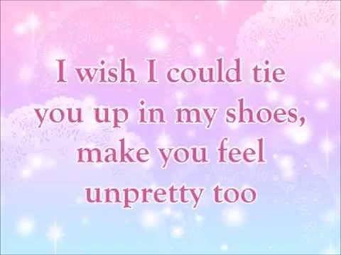 Unpretty in the style of tlc karaoke video with lyrics youtube.