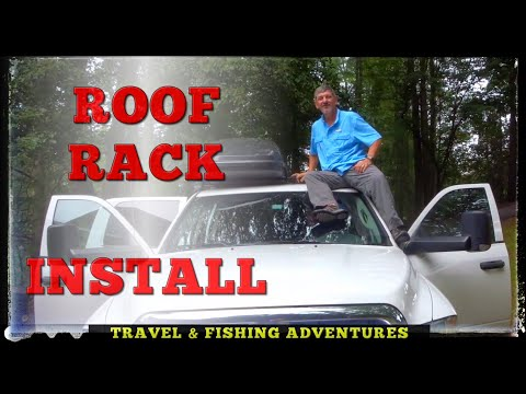 How To Install The Thule Traverse Roof-rack Roof Rack On Truck