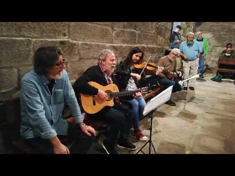 Homenaxe a Alfonso Blanco no San Alberte en Guitiriz
