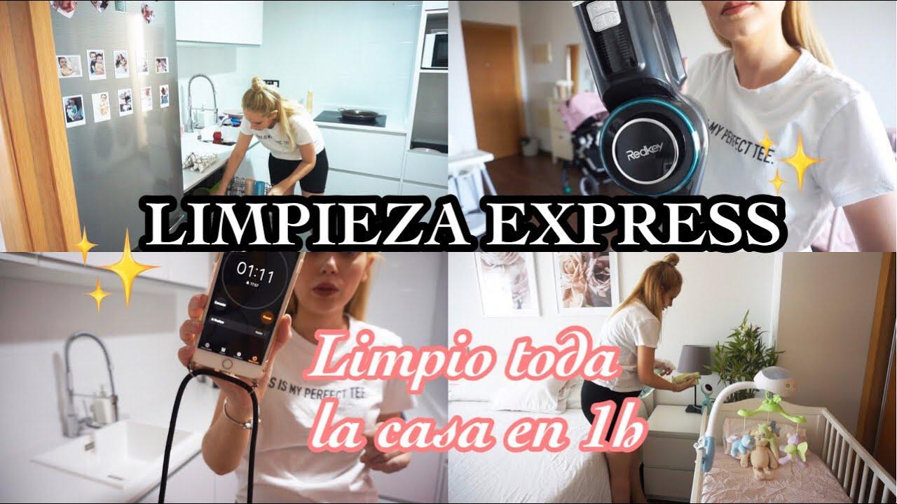 LIMPIO TODA LA CASA EN UNA HORA/ RUTINA DE LIMPIEZA 2021/POWER HOUR/ LIMPIEZA EXPRESS 🧼