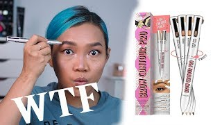 REVIEW 4 IN 1 BROW CONTOUR PRO BENEFIT BAHASA INDONESIA
