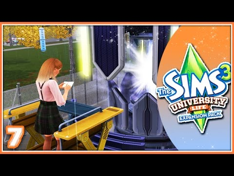 The Sims 3: University Life | Part 7 | Working On Skills