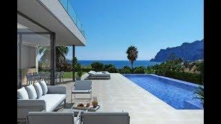 Espagne : Villa de luxe moderne de rêve vue mer : Nouveau projet : Savoir bien débuter l'année
