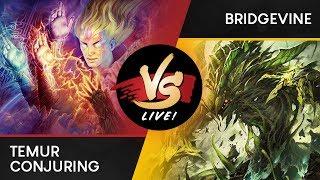 VS Live! | Temur Conjuring VS Bridgevine | Modern | Match 1