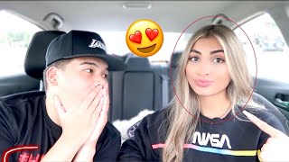 REVEALING MY NEW HAIR COLOR TO MY BOYFRIEND!!!
