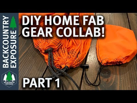 DIY Home Fab Gear Collab | Part 1 - Trip Smith and Spiguyver Backpacking