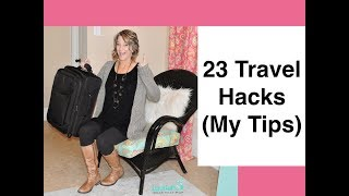23 Travel Hacks (Airplane Tips)
