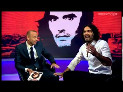 Russell Brand destroys the BBC (Bullshit Broadcasting Corporation)