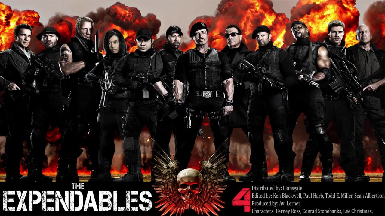 The Expendables 4 Trailer German