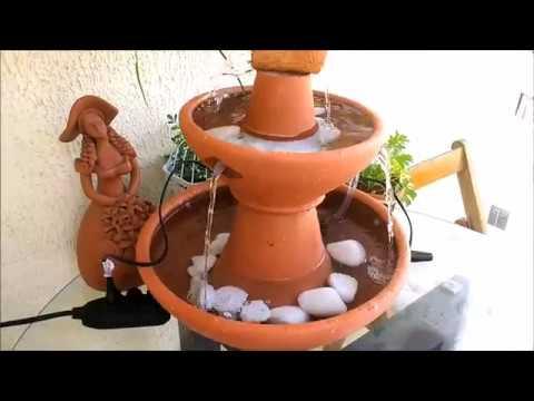 6e6db7cfe2b Faça você mesmo sua fonte de água! - YouTube