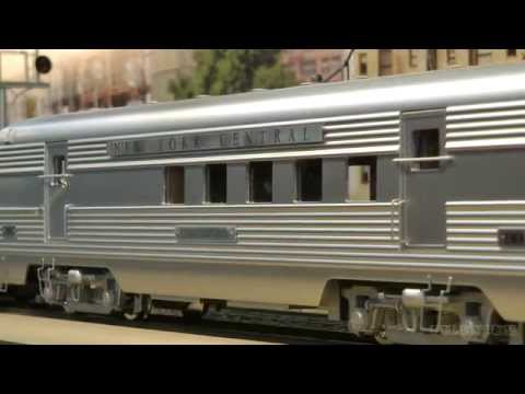 New York Central Railroad as Model Train layout in Scale 1