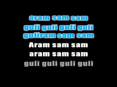"Canciones infantiles en forma de canon ""Canta mi burrito, Aram sam sam, Chocolate"