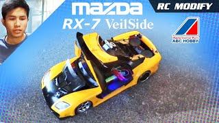 RC Modify 11 Part 2   Mazda RX-7 VeilSide Stereo System [English]