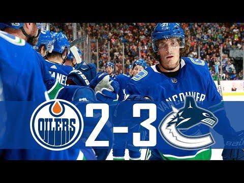 Canucks vs Oilers | Pre Season | Highlights (Sept. 30, 2017) [HD]