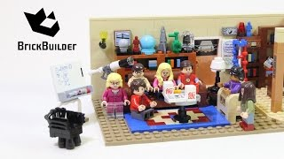 Lego Ideas 21302 The Big Bang Theory - Lego Speed Build