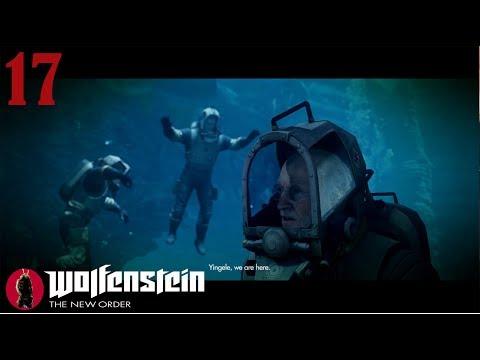 Wolfenstein The New Order Walkthrough Gameplay Part 17 - Underwater - (PS3 Blind Lets play)